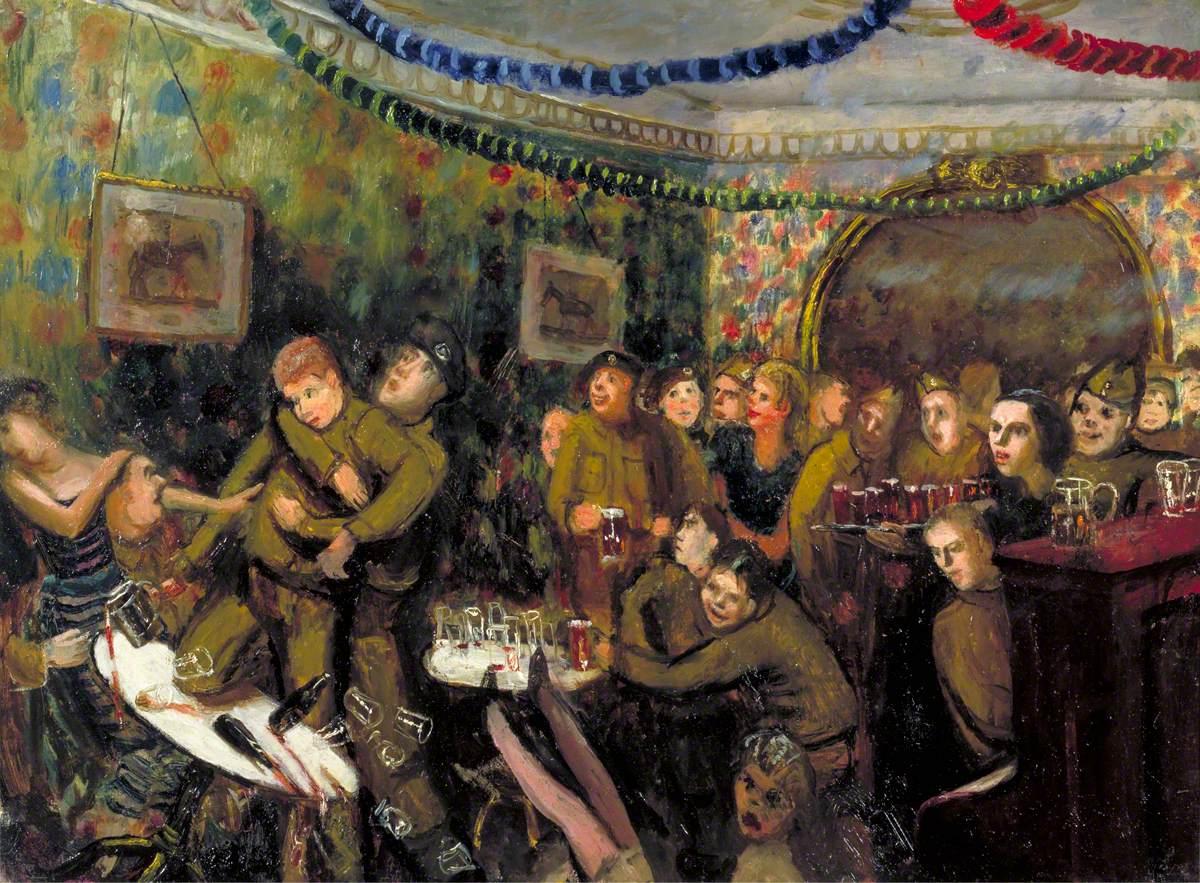 Recruits' Progress: An Evening out, Pub Scene