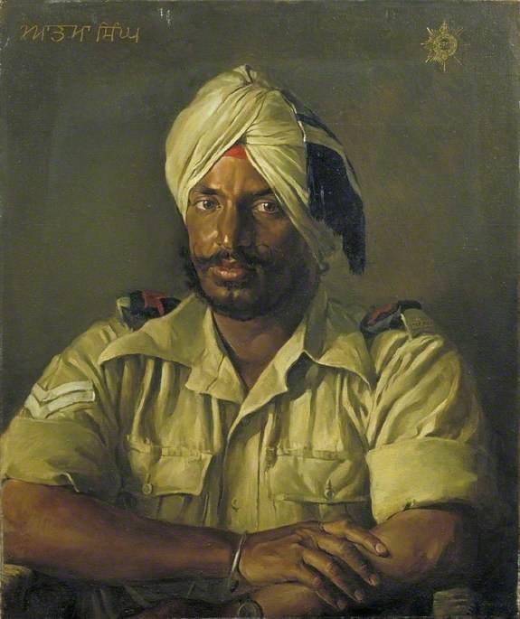 A Sikh: Atma Singh