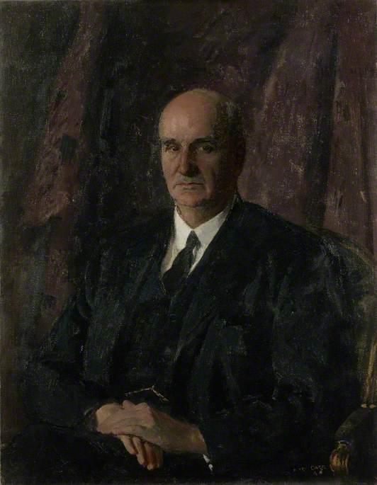 Frederick Alexander Lindemann (1886–1957), PC, FRS, First Baron Cherwell of Oxford