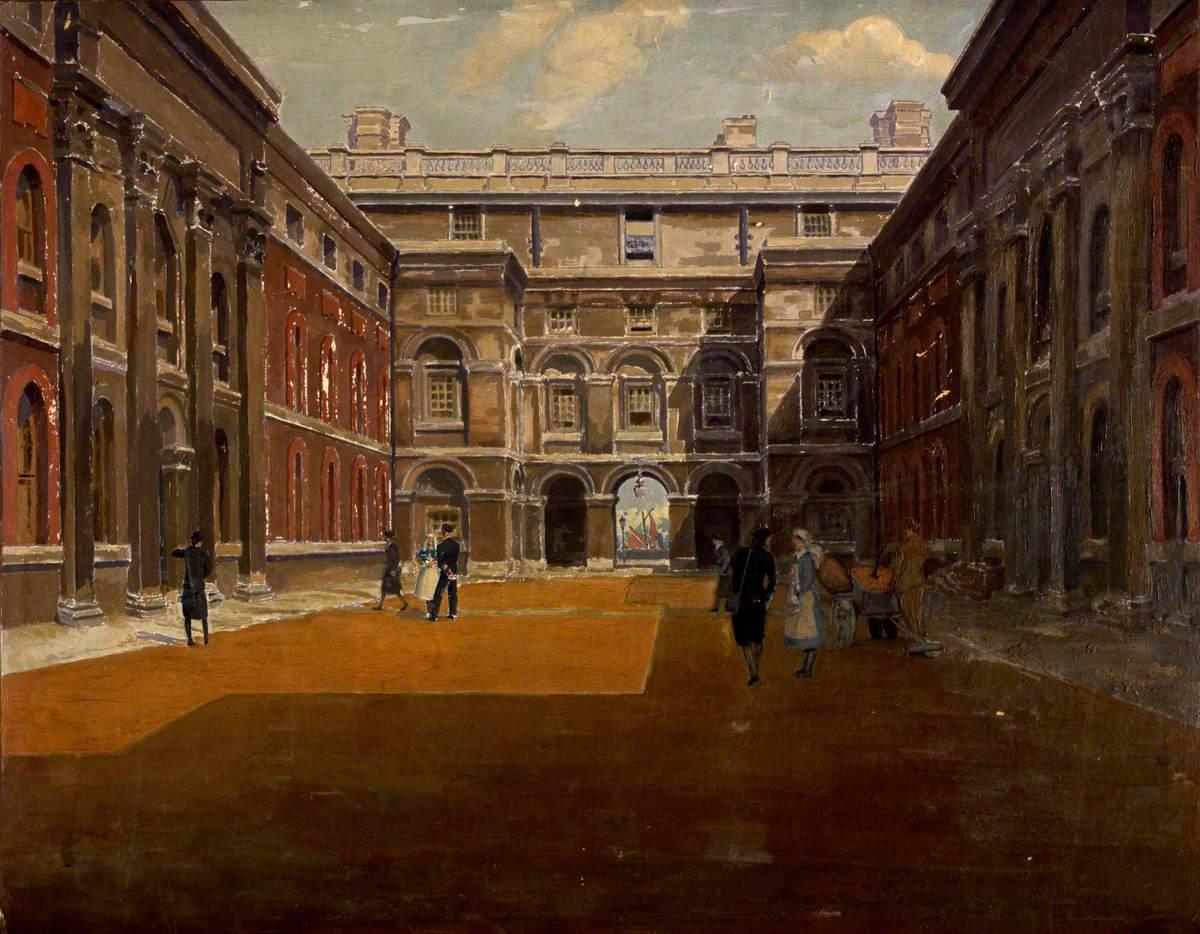 Courtyard, Queen Anne's House, Greenwich