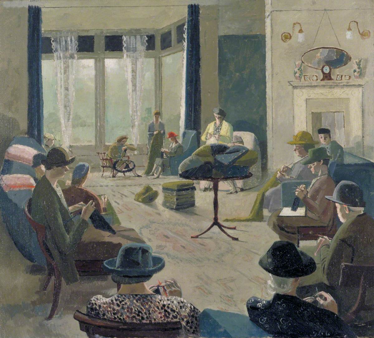 A Knitting Party