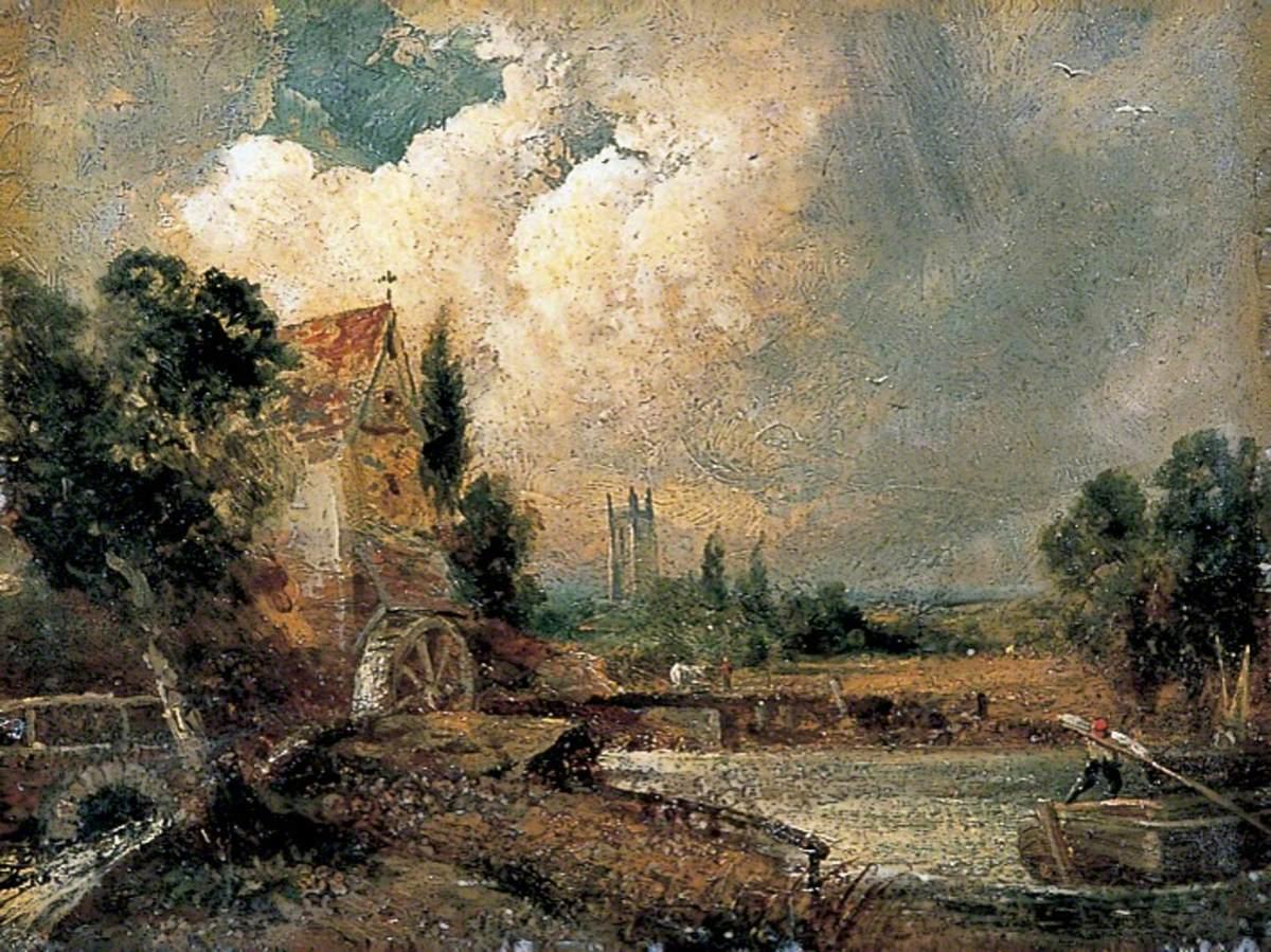 Watermill at Flatford, Kent