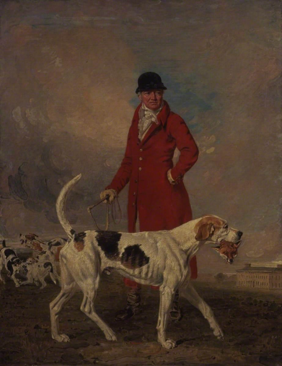 Thomas Hilton and His Hound 'Glory'