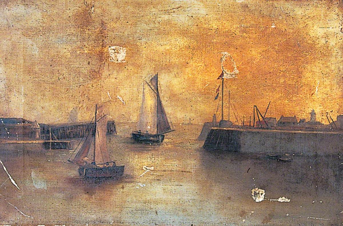 Dover Harbour, 1897