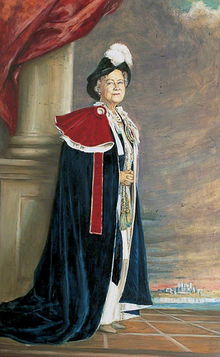 HM Queen Elizabeth, the Queen Mother (1900–2002), Lord Warden of the Cinque Ports