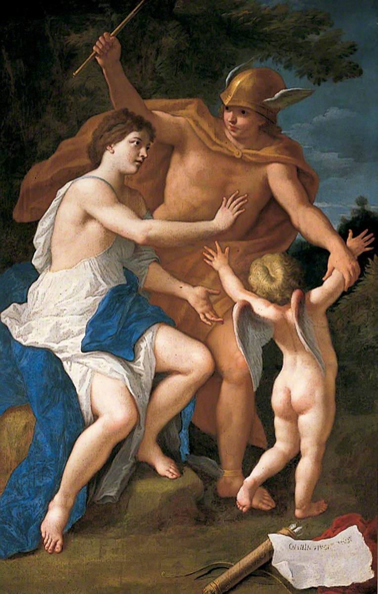 Mercury, Venus, and Cupid (The Education of Cupid)