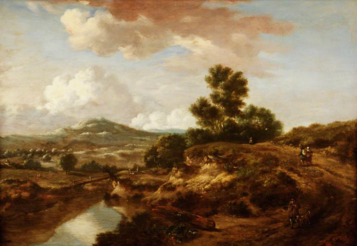Landscape with a River and a Bridge