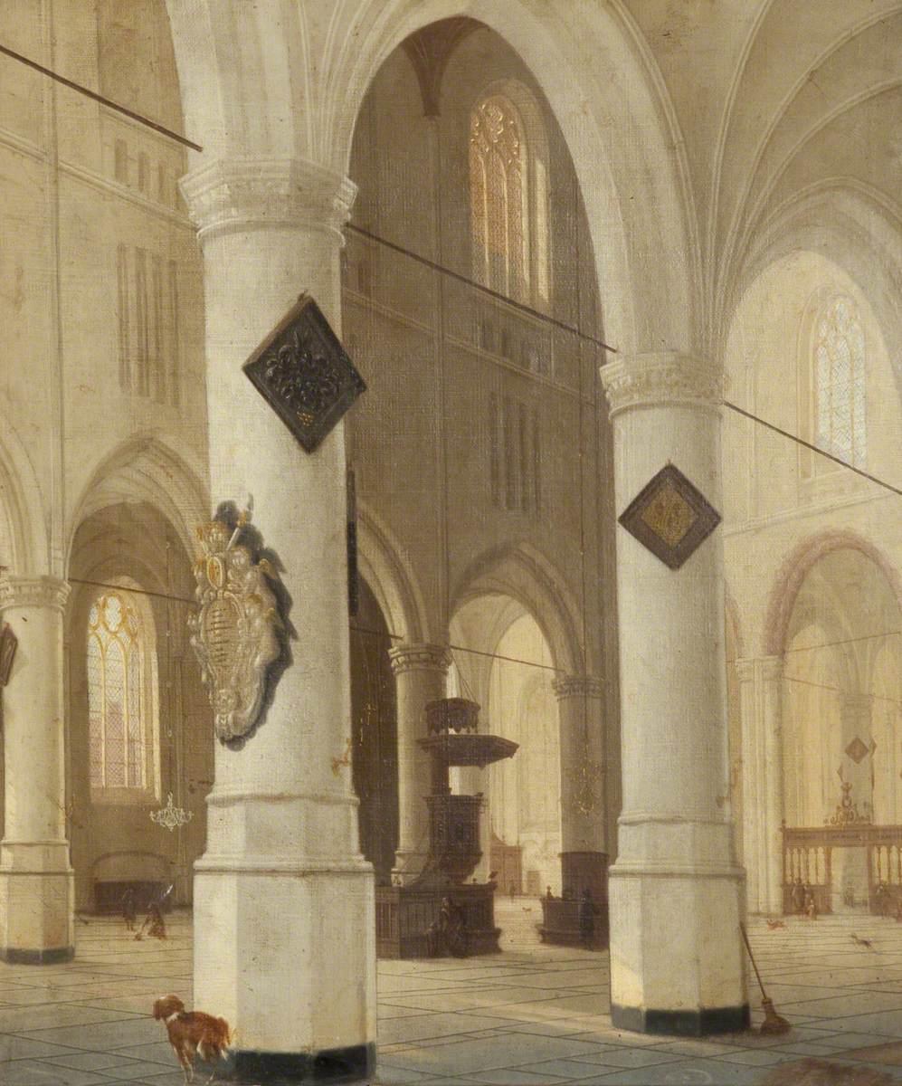 Interior of the Nieuwe Kerk, Delft
