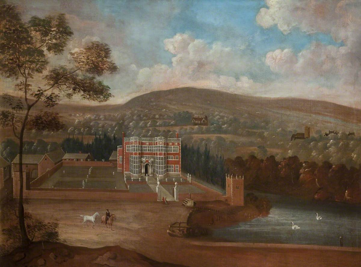 Landscape with Astley Hall