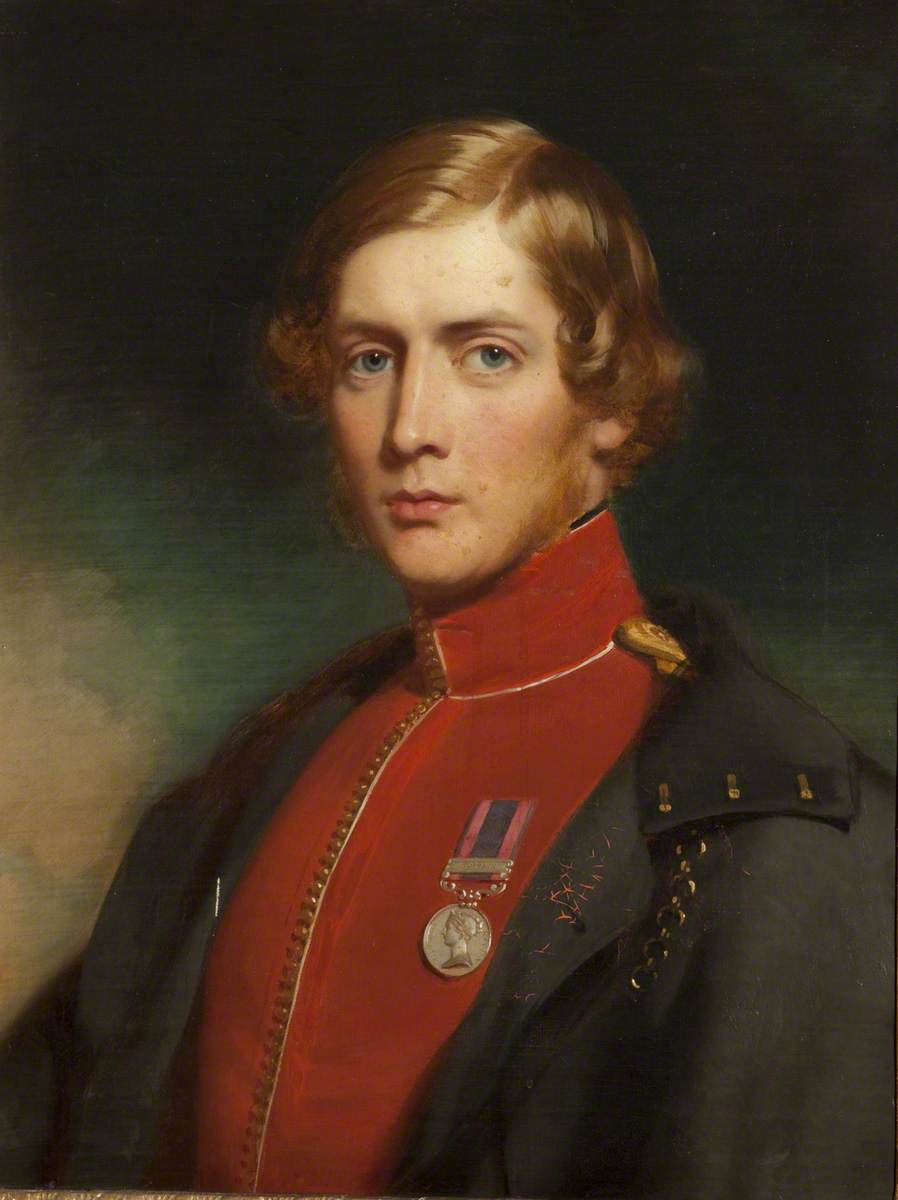 Robert Townley-Parker as Captain of the 53rd Regiment of Foot