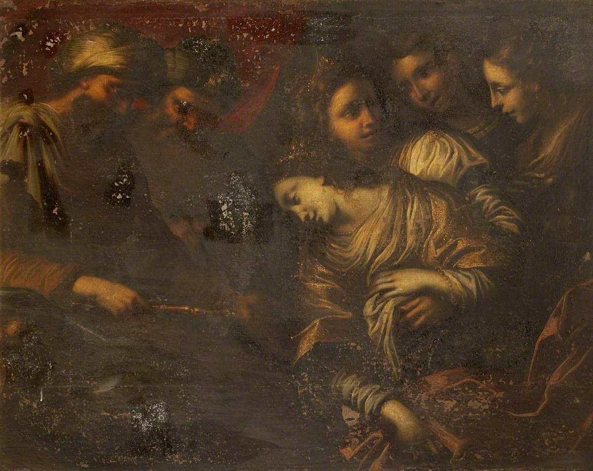 Esther and  Ahasuerus