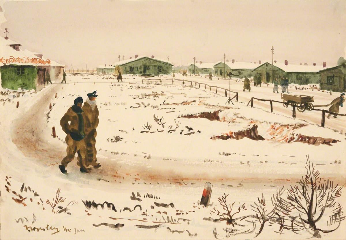Marlag 'O' in Winter