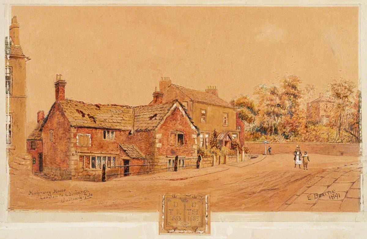Halfway-House, London to Edinburgh, Walton-le-Dale