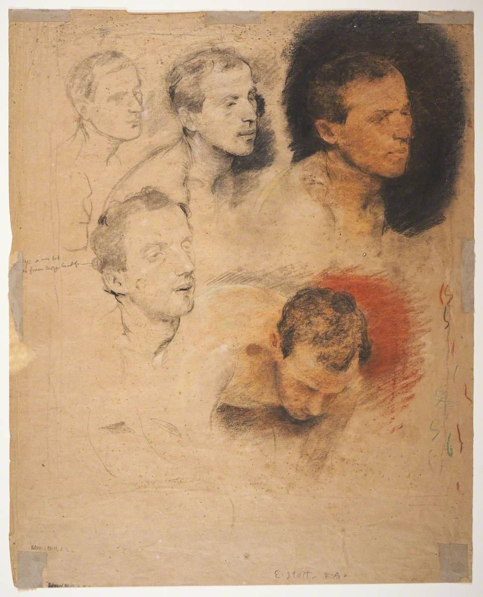 Studies of Male Head