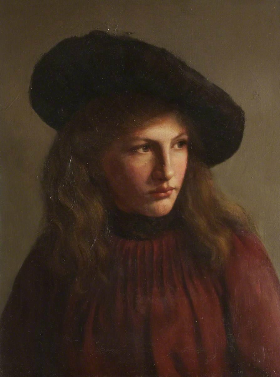 Portrait of a Girl in a Cap
