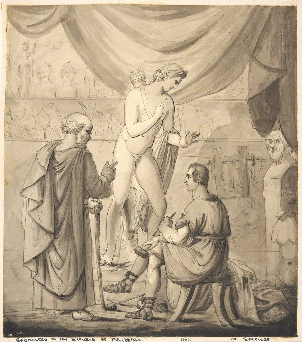Socrates in the Studio of Phidias