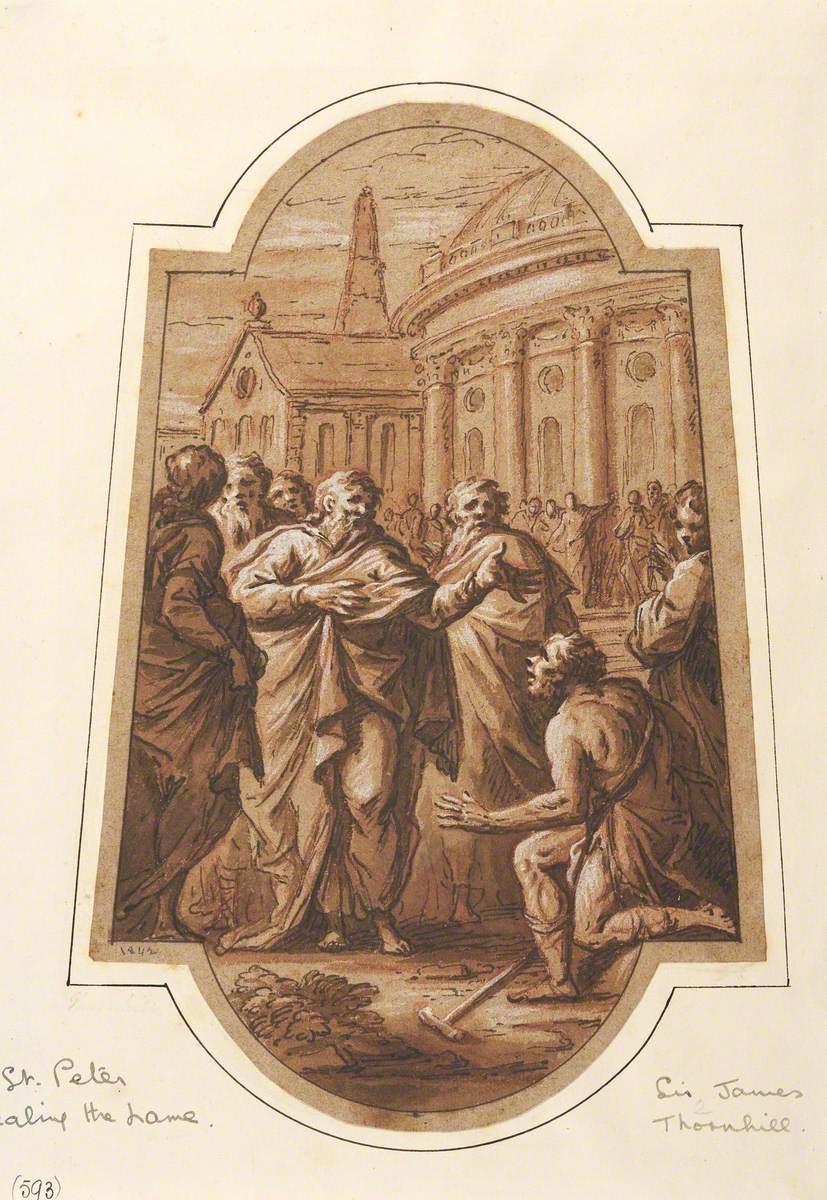 Saint Peter Healing the Lame
