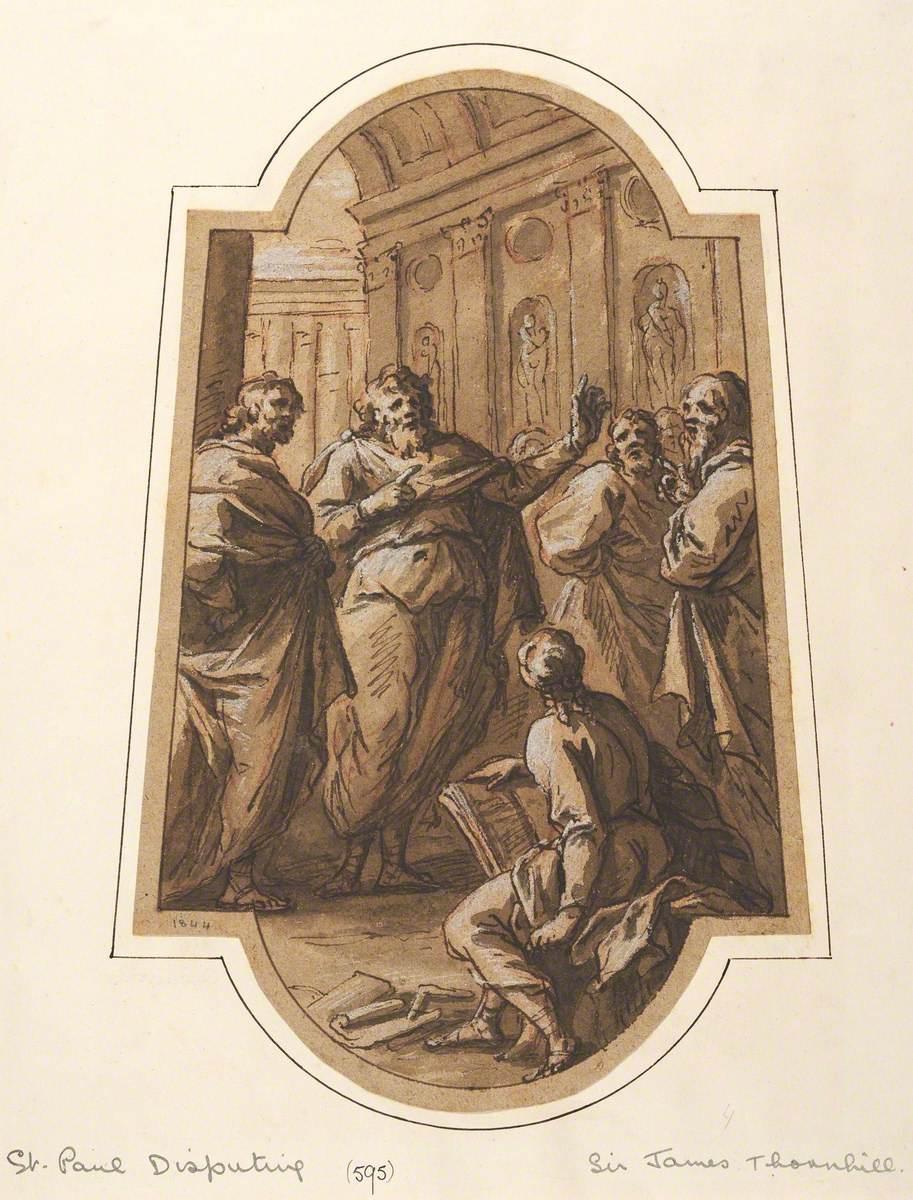 Saint Paul Disputing