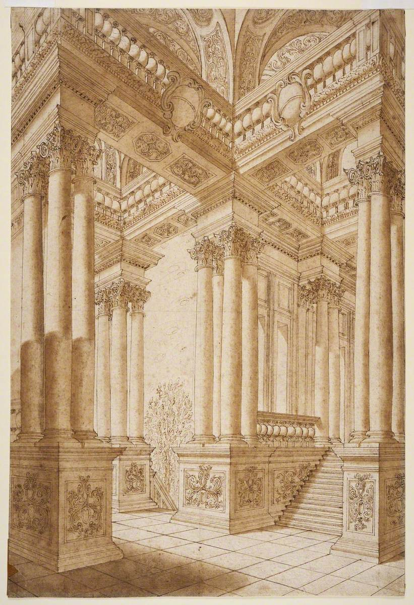 Architectural Staircase or Architectural Fantasy
