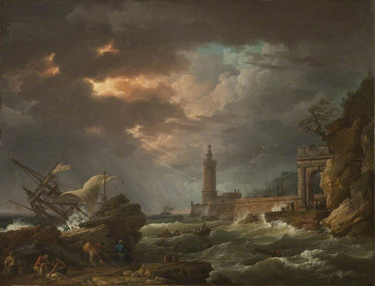 The Tempest (Storm off the Coast)