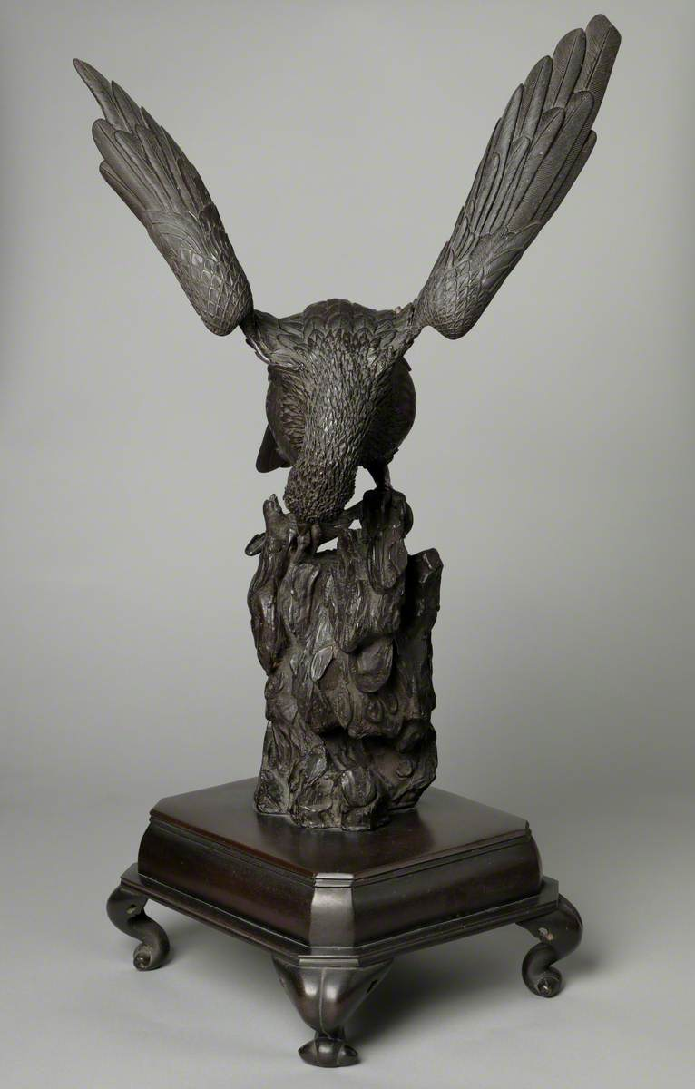 Okimono of an Eagle