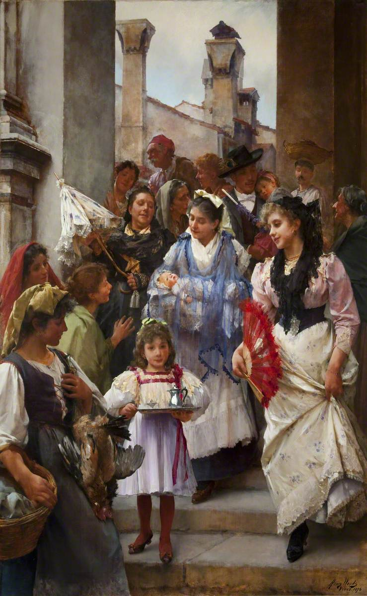 A Venetian Christening Party