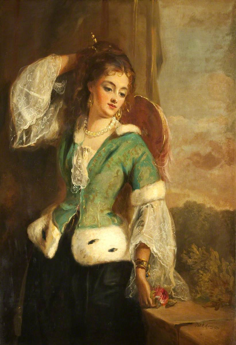 Portrait of a Lady in a Green Jacket