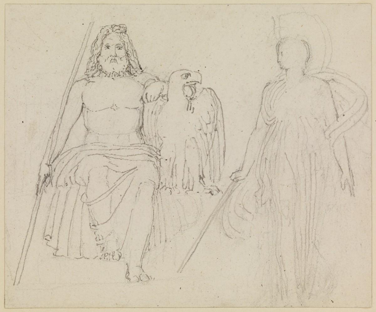 Zeus with Athene