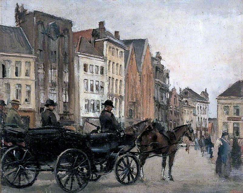 La grande place, Bruges