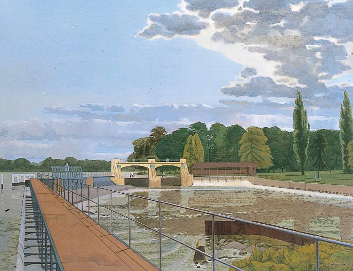 The Weir, Teddington Lock, London
