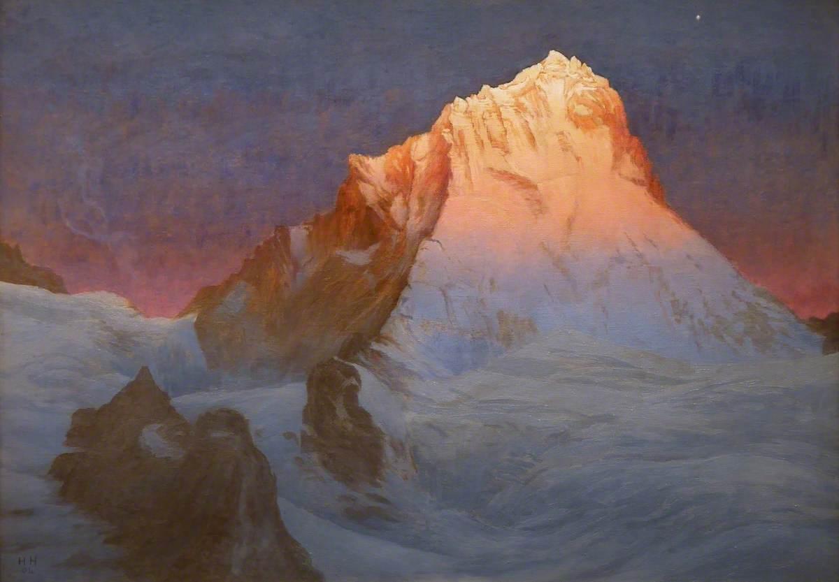 Sunrise on Dent Blanche