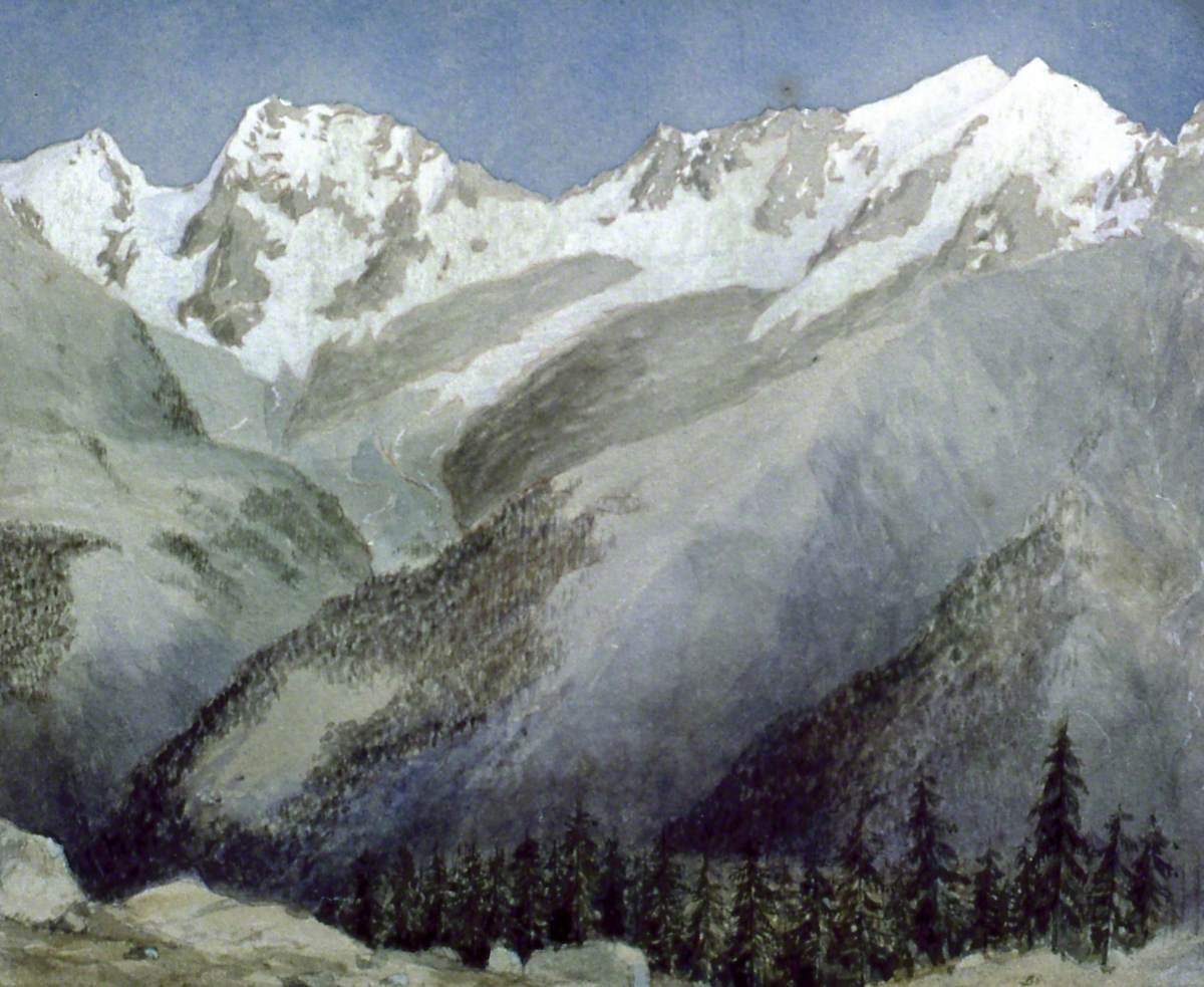 Fletschhorn and Weissmies