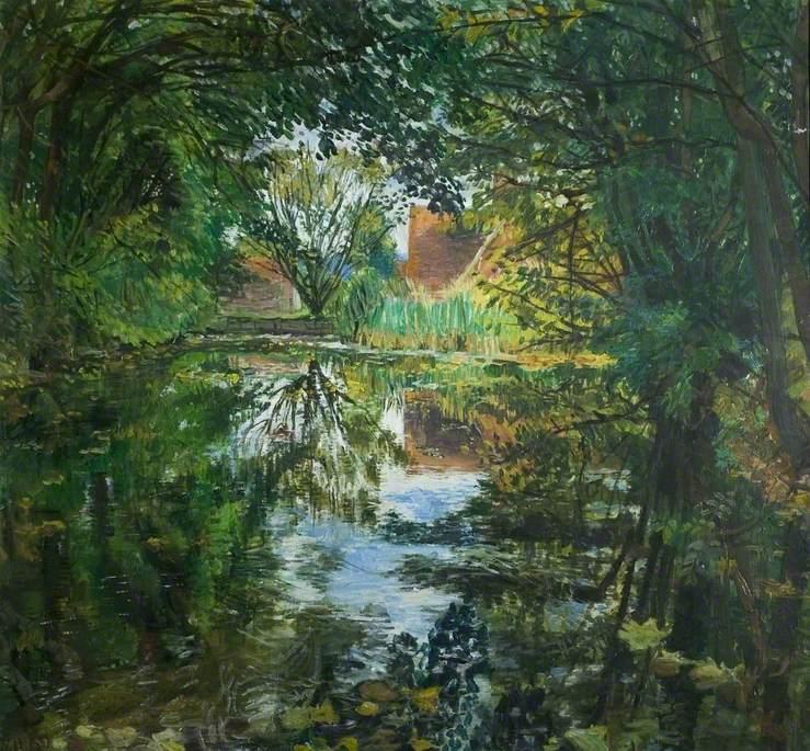 Old Mill Pond, Leeds, Kent