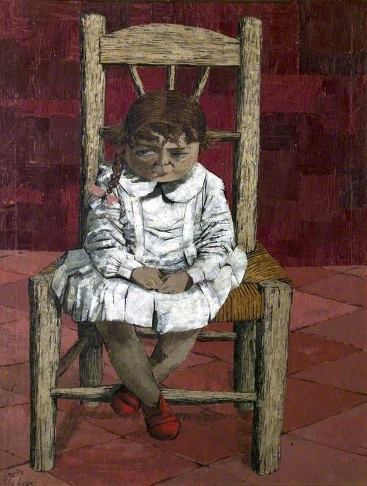 Small Girl in a Chair