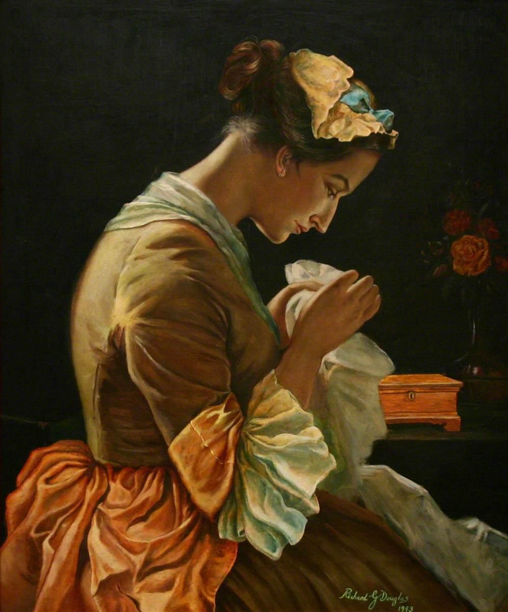 Susanna Wesley, Sewing