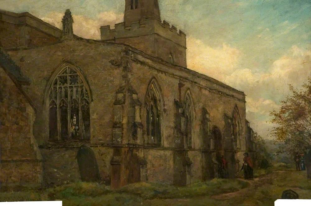 St Denys' Church, Evington, Leicestershire