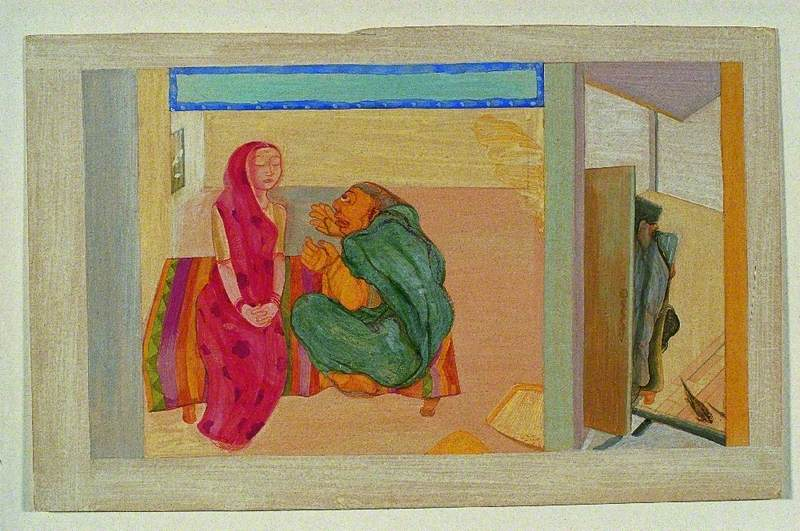 Conflict between the Daughter-in-Law and Mother-in-Law, while the Husband Enjoys a Rest