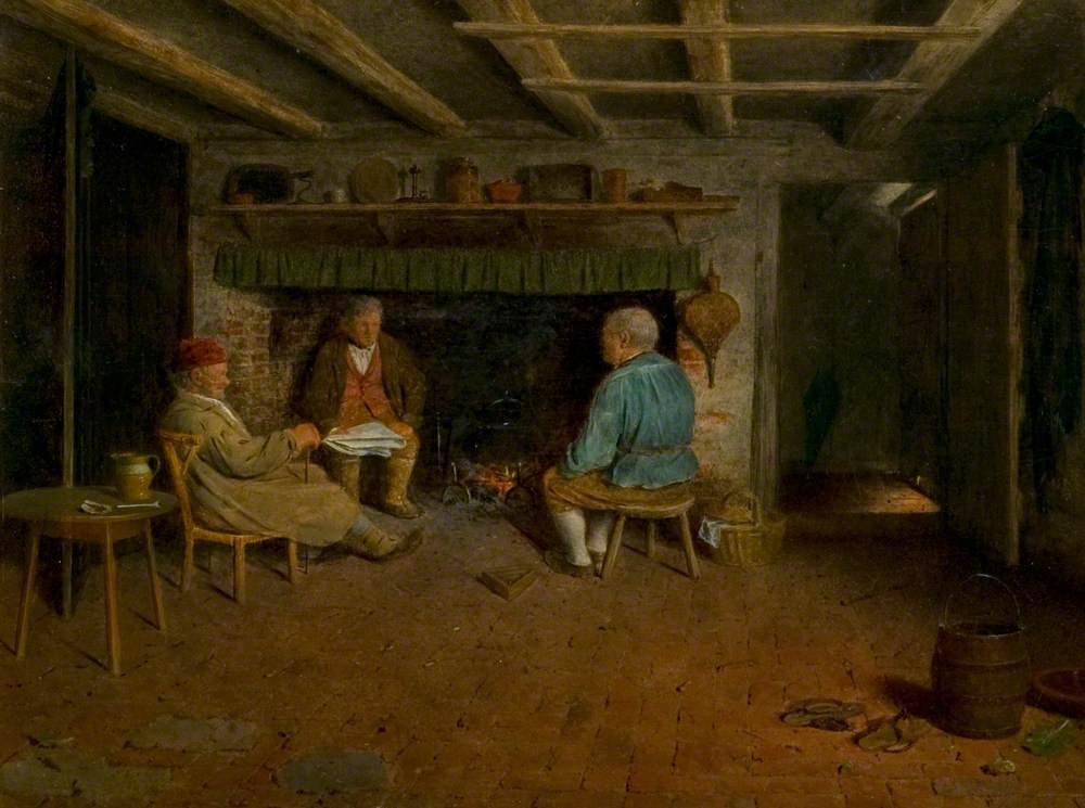 Interior of a Sussex Farmhouse