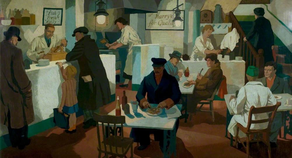 The Fried Fish Shop | Art UK
