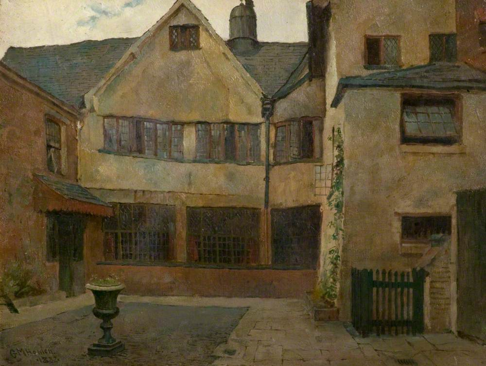 Courtyard, Guildhall, Leicester