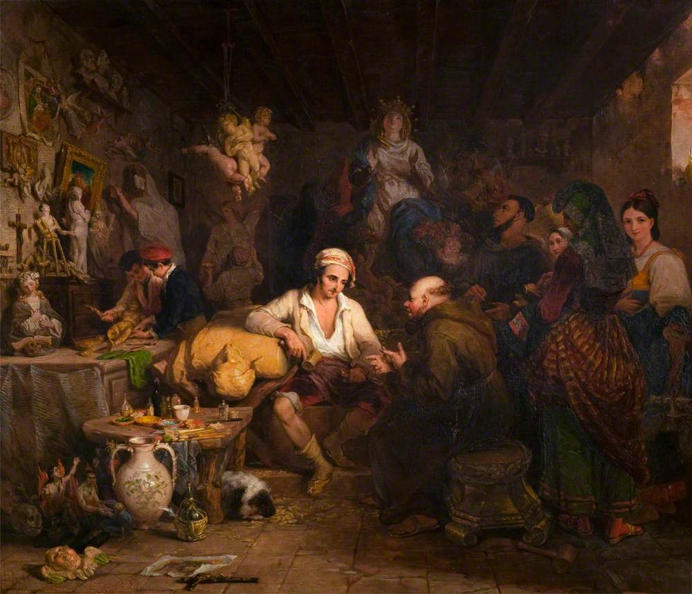 A Neapolitan Saint Manufactory