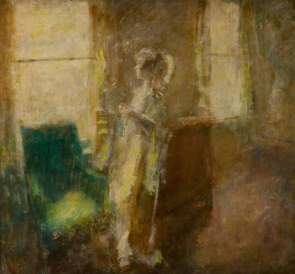 The Artist's Wife in an Interior