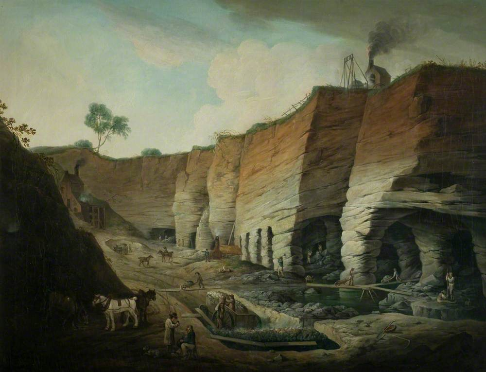 Dimminsdale Quarries on the Ferrers Estate, Staunton Harold, Leicestershire