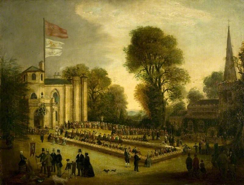 The Village Feast, Coleorton Hall, Leicestershire