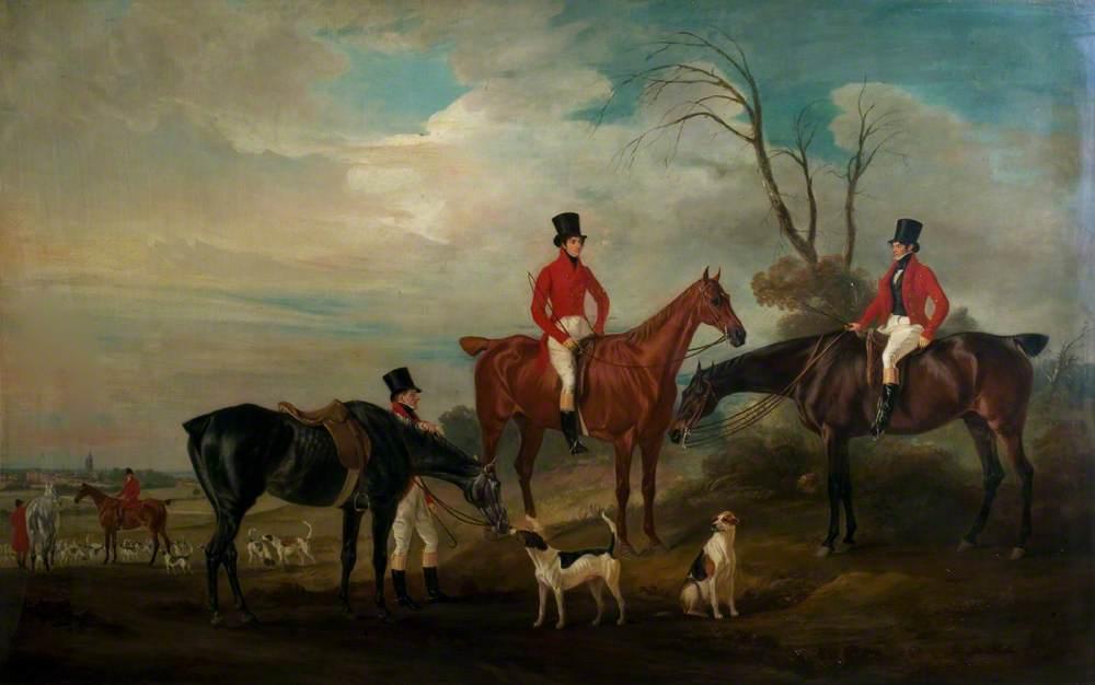 John, Henry and Francis Grant at Melton