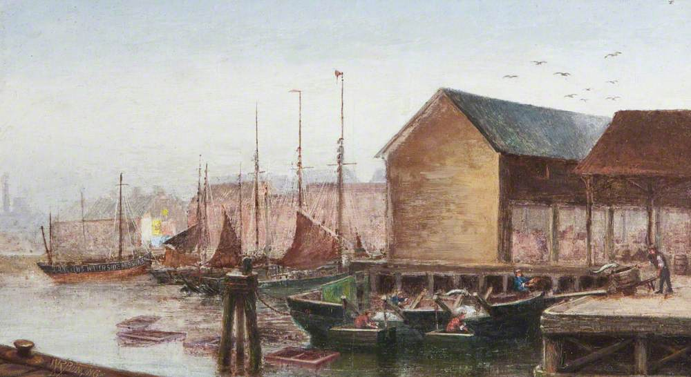 The Stowboat, No. 2 Fish Dock, Grimsby, Lincolnshire
