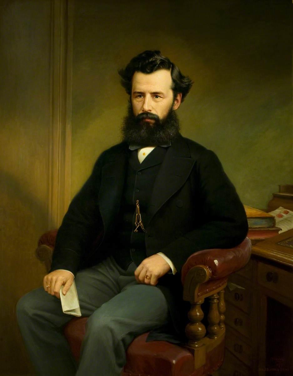 Alderman William Grimsley (1832–1878), Mayor of Leicester (1878)