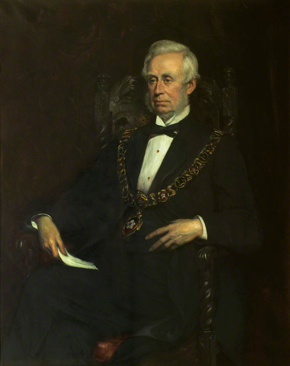 Alderman William Kempson (1805–1893), JP, Mayor of Leicester (1873 & 1890)