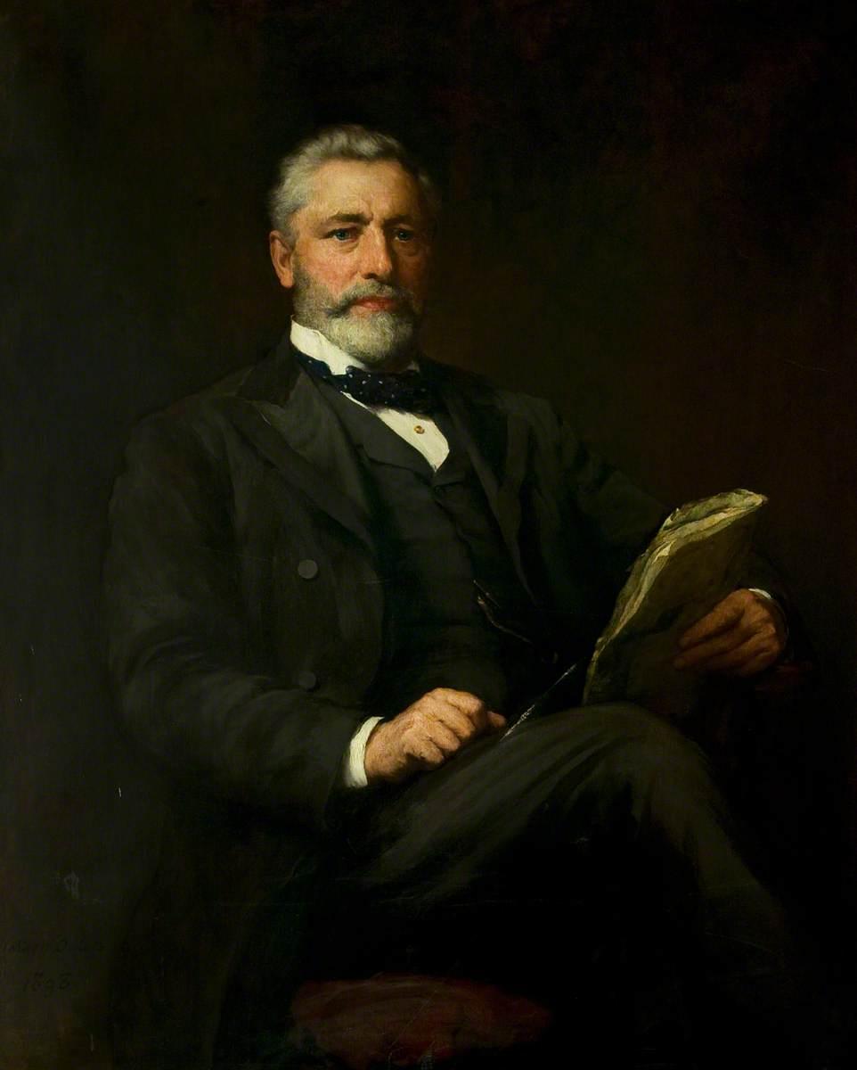 Alderman Edward Wood (1839–1917), JP, Mayor of Leicester (1888, 1895, 1901 & 1906)