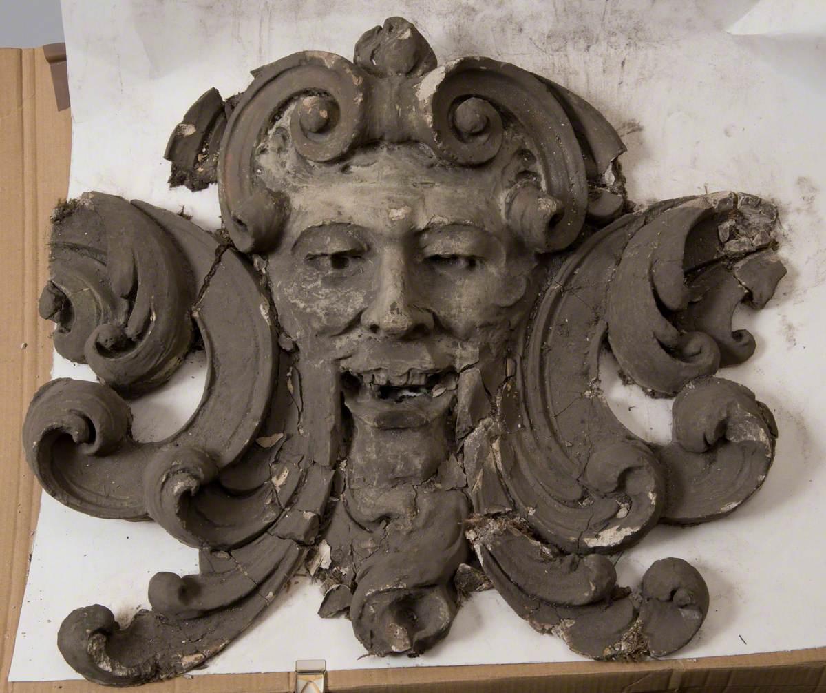 'Green Man' Grotesque Head, Wood Green Empire (I)*